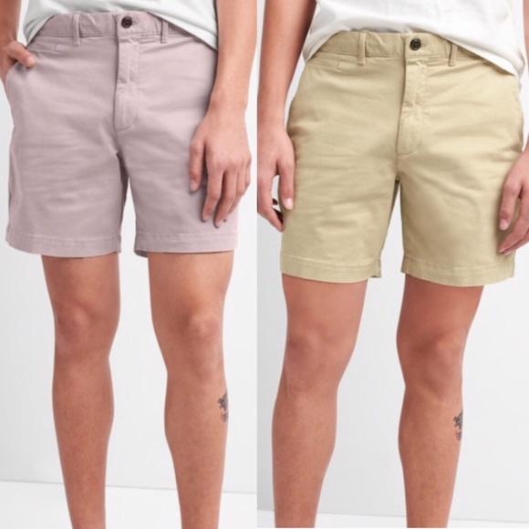 """cea6136b30 Men's 7"""" Washwell Vintage Wash Shorts with Gapflex NWT"""